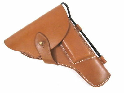 WWII Era Russian Leather Holster for the TT33 Tokarev Pistol - Reproduction