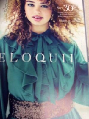 Eloquii Winter Holiday Plus Size Catalog 2017