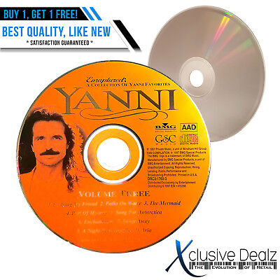 DISC ONLY * / CD / Yanni - Live At The Acropolis - Royal