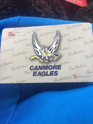 Canmore Eagles Tim Hortons Card 2015
