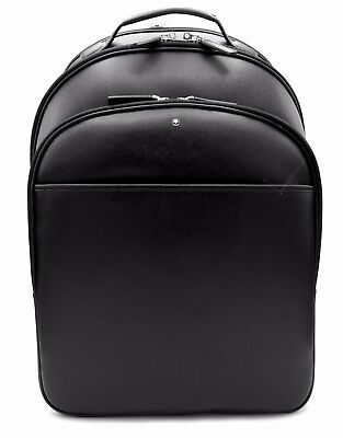 Montblanc Sartorial Black Leather Backpack 114586