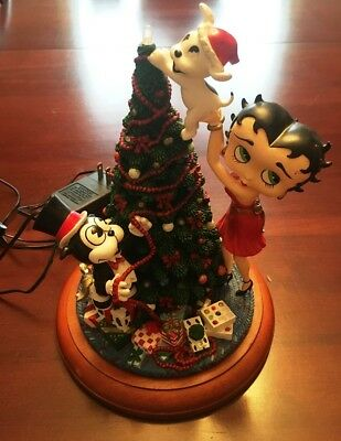 Danbury Mint - Betty Boop Light-Up Christmas Tree