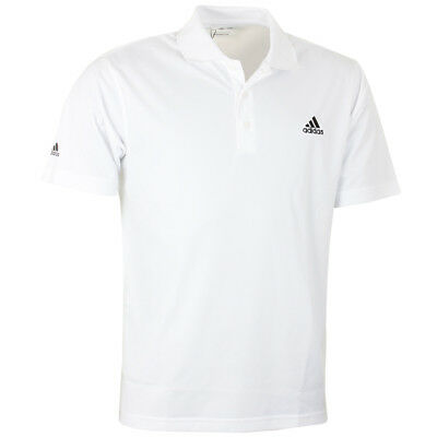 Adidas Golf Mens ClimaLite Basic Performance Tour Logo Bespoke Tech Polo Shirt