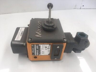 "Maxon Solenoid  Valve 100Smm11-Aa12-Aa*1A0  Normally Closed  110 Vac 1""port"