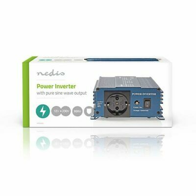 Power Inverter Onda Sinusoidale Pura 12 VDC AC 230 V 300 W F