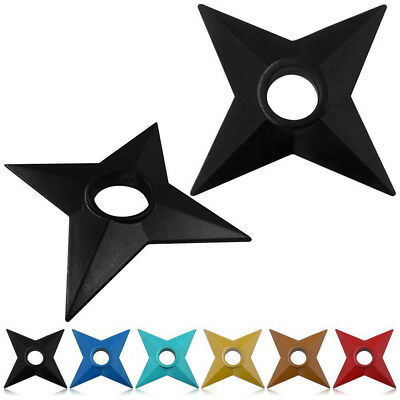 Fun Naruto Cosplay Ninja Shuriken Plastic Duadrangle Ninja Darts Props Toys fun