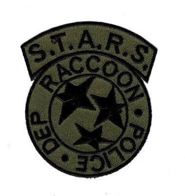Resident Evil S.T.A.R.S RACCOON Embroidered Patch (IRON ON-MTP5)
