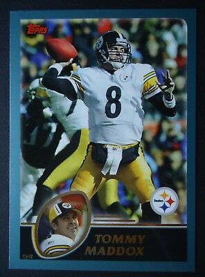 NFL 83 Tommy Maddox Pittsburgh Steelers Topps 2003