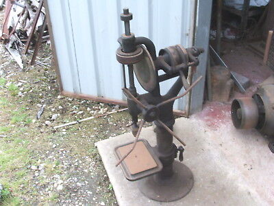 Antique Pedestal Drill