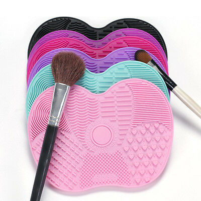 Silicone Makeup Brush Cleaner Pad Washing Scrubber Board Cleaning Hand Mat Tool