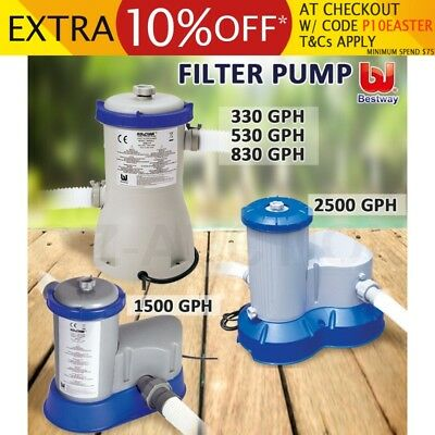 Bestway Flowclear Filter Pump Filters Swimming Pool Cleaner 5 Models