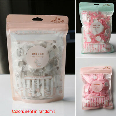 Portable Travel Non-woven Fabric Disposable Compressed Wash Cloth Face Towel 50X
