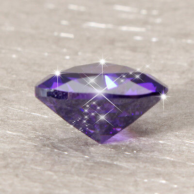 Exquisite Blue 12X12mm Triangl Shape Diamond Cut AAAA Loose Gemstone Gift Parts