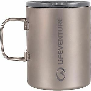 Lifeventure Titanium Insulated Mug mt sr/tit