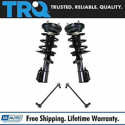 TRQ 4pc Suspension Kit Strut /& Spring Assemblies w// Sway Bar End Links for Aveo