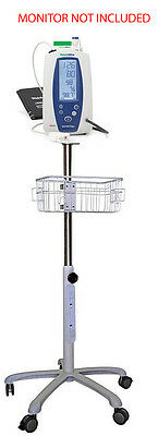 Rolling stand for Welch-Allyn spot 420 vital sign monitor new (small wheel )