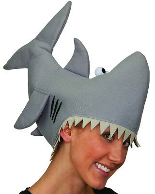 Funny Shark Party Hat Costume Accessory