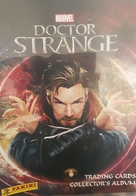 Dr Strange Trading Cards, Full Set X125 + Binder + 1 Ltd Ed Card
