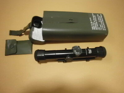 Hensoldt /Zeiss / Wetzlar rifle Scope ZF 4x24  Model 1  included  mounting