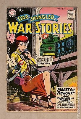 Star Spangled War Stories (1952 #3 to 204) #86 GD 2.0