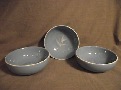 Set of 3 Winfield Blue Pacific Coupe Cereal Bowls