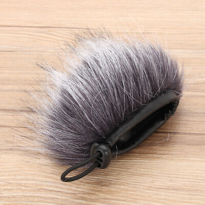 Pro Outdoor Dusty Microphone Furry Cover Windscreen Windshield Muff For ZOOM H1