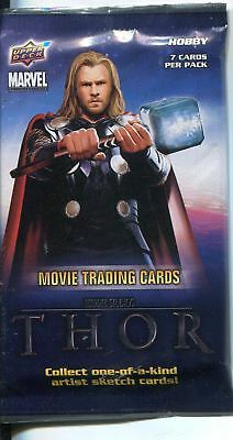 Thor The Movie Factory Sealed Hobby Packet / Pack