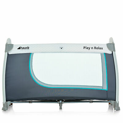 New Hauck Hearts Play N Relax Portable Travel Cot / Baby Playpen From Birth