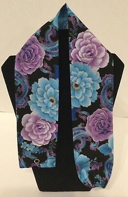 Purple and Blue Rose MD RN EMT LPN Stethoscope Cover Buy 3 GET FREE SHIPPING