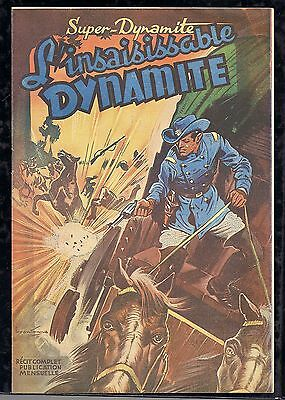 collection SUPER-DYNAMIQUE N°1 déc 1948 L'INSAISISSABLE DYNAMITE  couv BRANTONNE