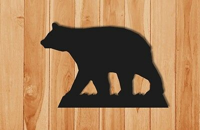 Large Black Bear Wall Hanging