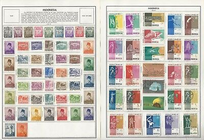 Indonesia Collection 1949-1988 on 20 Harris Pages