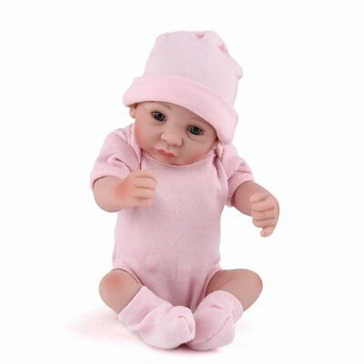 10'' Newborn Dolls Full Body Silicone Vinyl Baby Reborn Baby Doll Girl Nursery