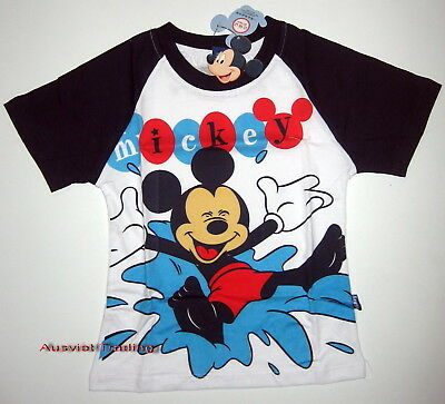BNWT Disney Mickey Mouse T-Shirt Top boys Tshirt cotton new release