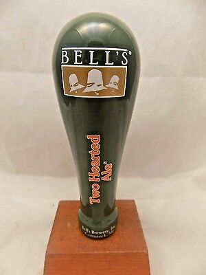 Rare Never Used BELL'S BREWERY Two Hearted Ale beer tap handle 6""