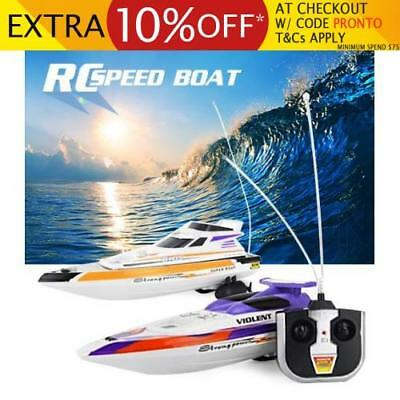 RC Remote Control Streak Racing Speed Boat Ship Radio Toy Kids Gift
