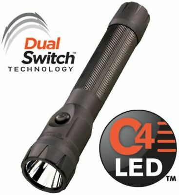 Streamlight PolyStinger DS LED Flashlight, 120V AC/DC Steady PiggyBack : 76832