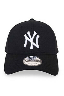 New Era Mens 9Forty Baseball Cap.genuine New York Yankees Black Adjustable Hat 1