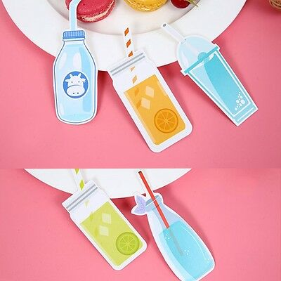 30pcs Candy Bookmarks Paper Clip Cute Office School Supply Stationery Funny Gift