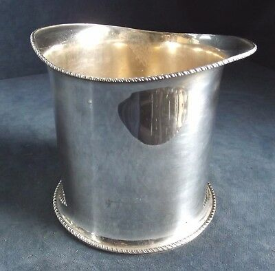 GOOD ~ EDWARDIAN ~ SILVER Plated ~ ICE Pail ~ c1900 by William Hutton