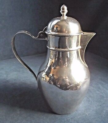 GOOD ~ ARTS & CRAFTS Type ~ SILVER Plated ~ BULBOUS Water / WINE JUG ~ c1890