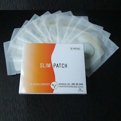 10 Pcs Strong Weight Loss Slimming Diets Slim Patch Pads Detox Adhesive Sheet