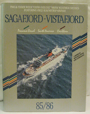Sagafjord Vistafjord Two & Three Week Ultra Deluxe Warm Weather Cruises 1985/86