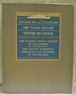Sagafjord Vistafjord Ultra Deluxe Winter Vacations American Cup Pacific Orient