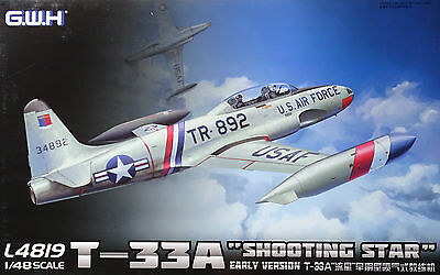 "LION ROAR® G.W.H.™ L4819 T-33A ""Shooting Star"" (USAF / Luftwaffe) in 1:48"