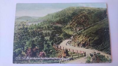 Vintage post card Postcard - Picnic Point & Toll Bar On Brisbane Rd Toowoomba