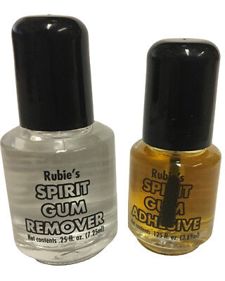 Theatrical Costume Spirit Gum Adhesive and Remover