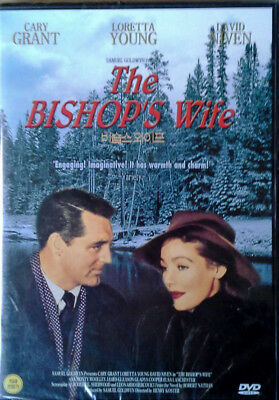 The Bishop's Wife - Cary Grant, Loretta Young, David Niven - Korean Dvd - Sealed