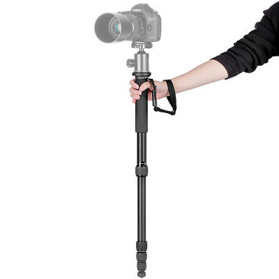 "Neewer Portable Aluminum 63.8"" Camera Monopod 5-Section Legs f Canon Nikon Sony"