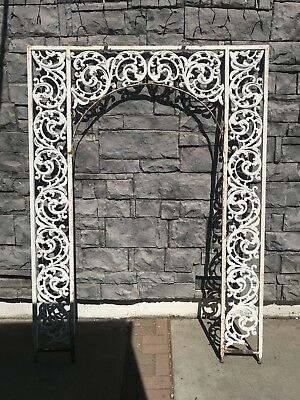 Wonderful Antique Architectural Wrought Iron Decorative Arch Weddings Parties